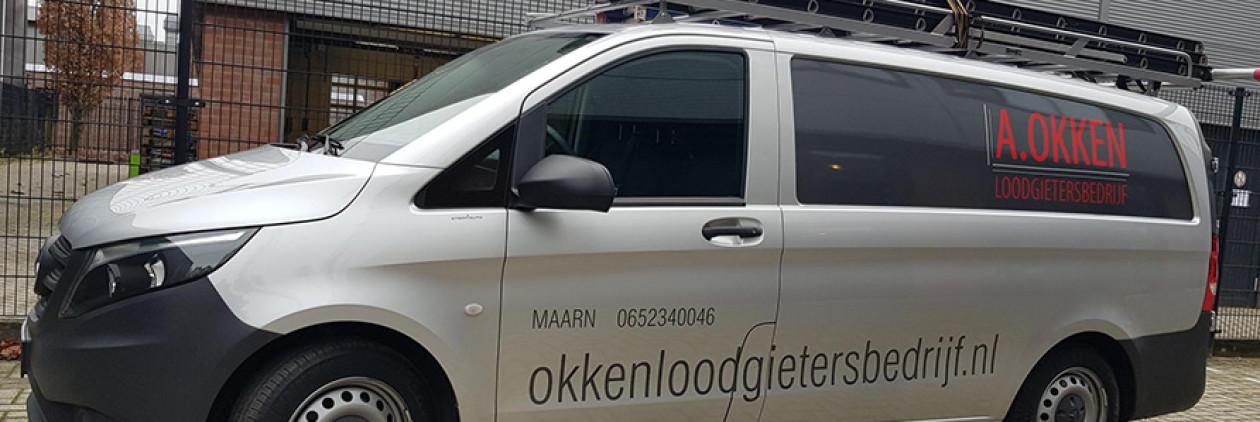 Loodgietersbedrijf A. Okken,  Maarn en omgeving